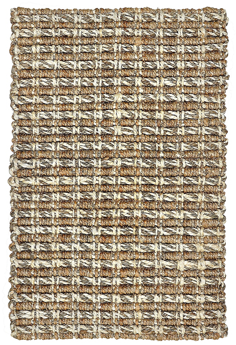 Timberhitch Jute Taupe Natural Rug