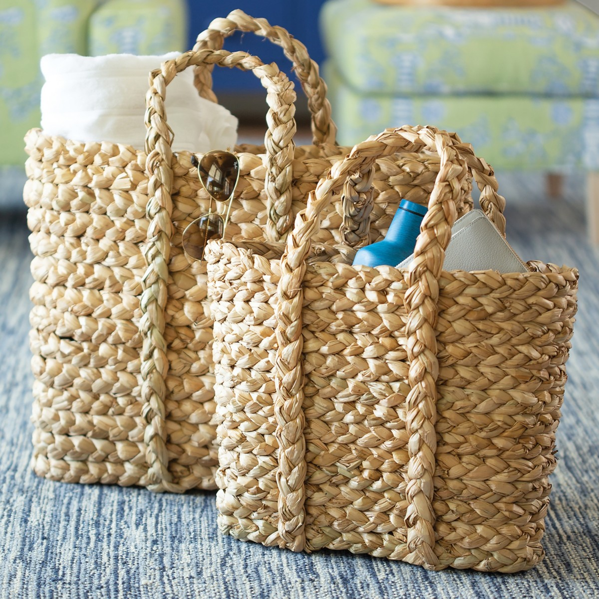 Tote-A-Lot Basket
