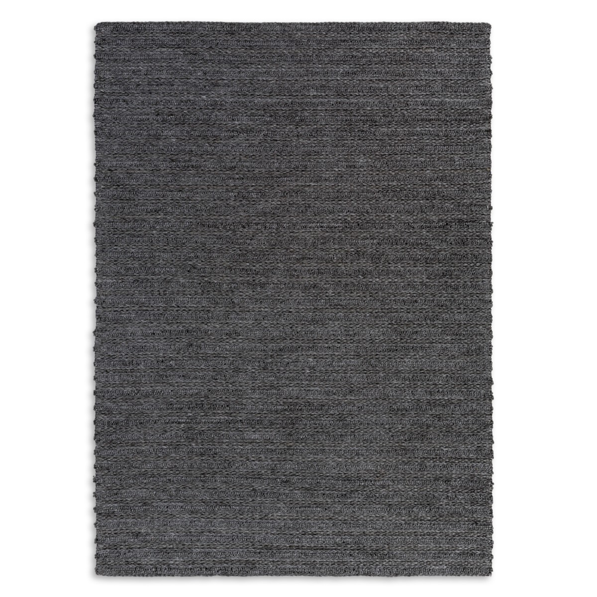 Tri-Knot Rug - Charcoal