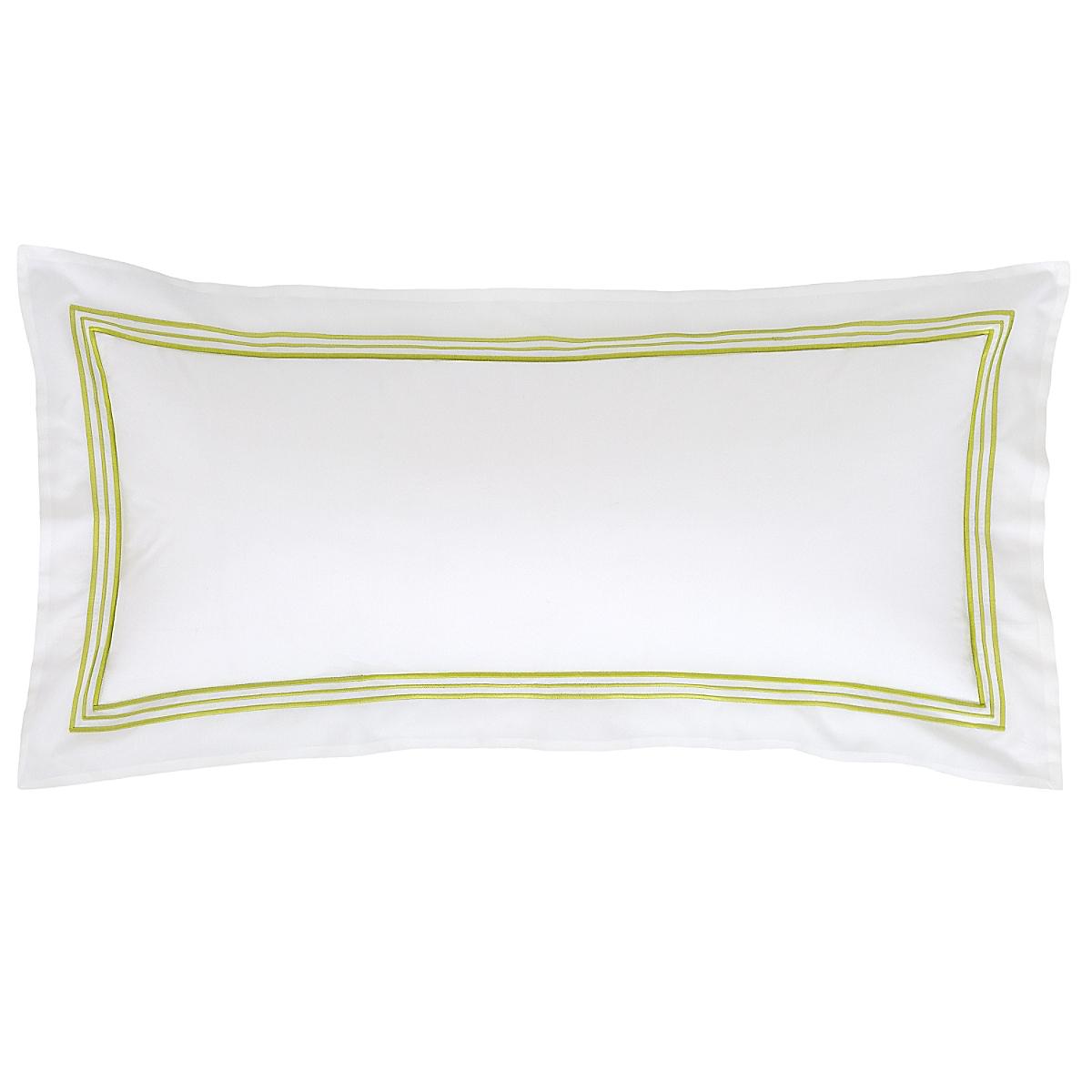 """Trio Green Decorative Pillow 15""""x35"""""""