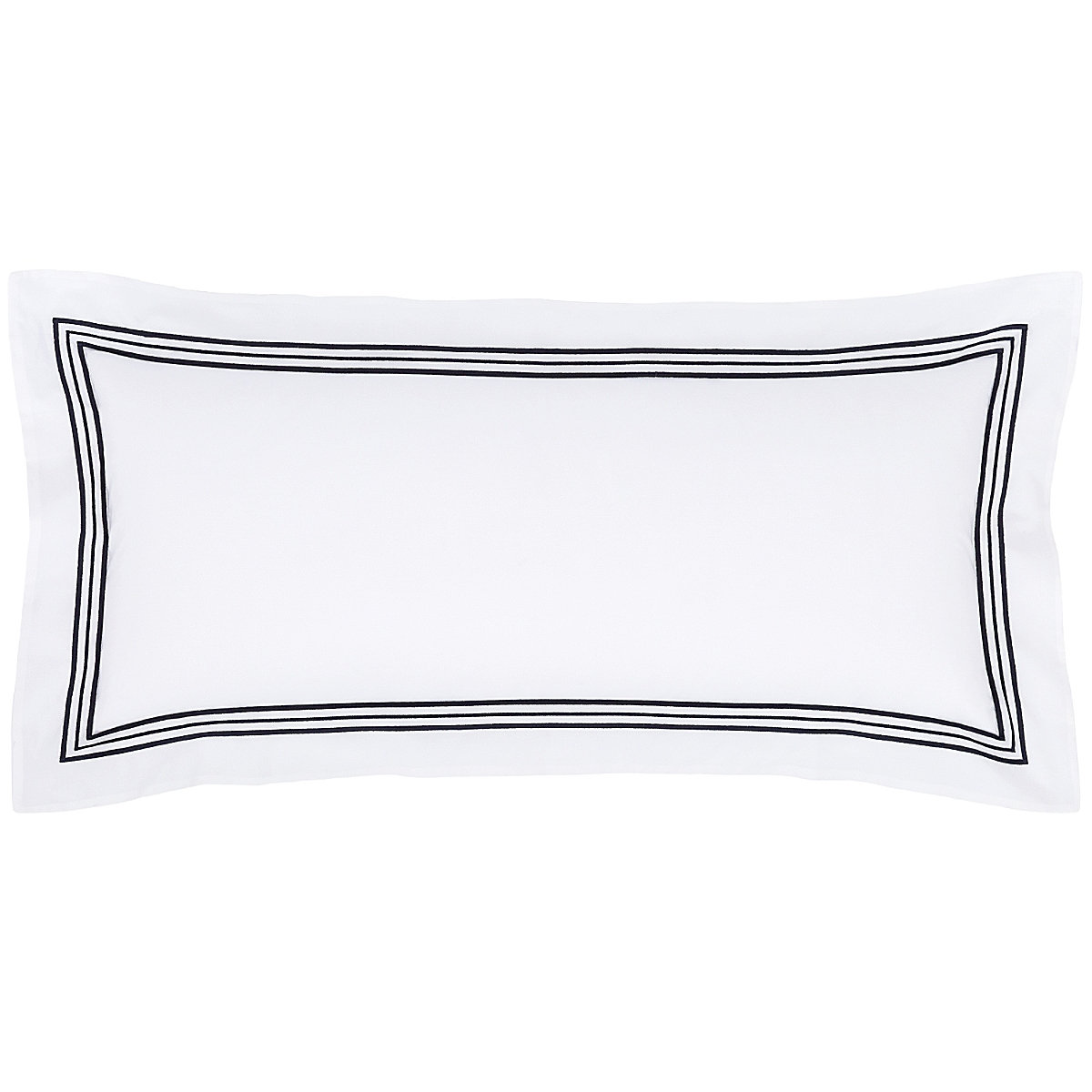 "Trio Indigo Decorative Pillow 15""x35"""