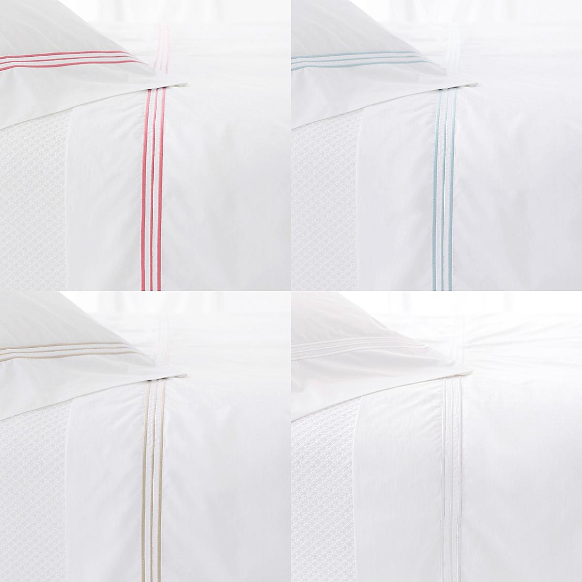 Trio Flat Sheet and Pillowcases