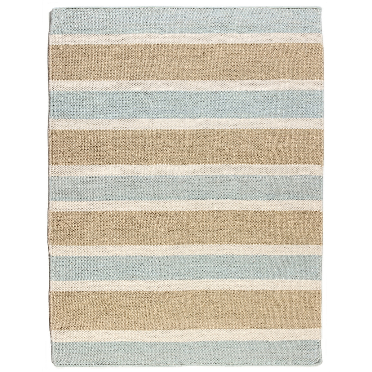 Tybee Island Wool Berber Striped Rug