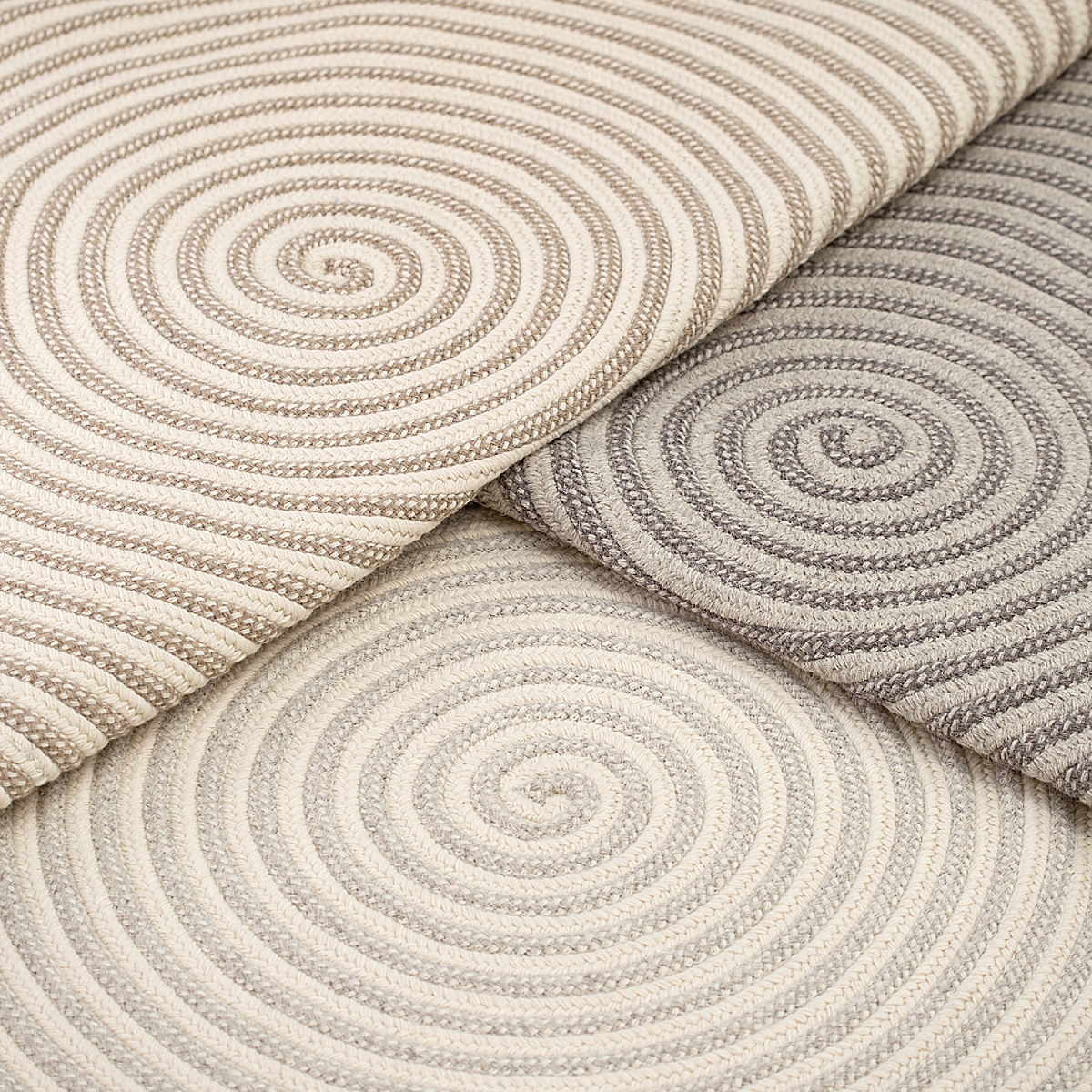 Whirley Wool Rug - Slate