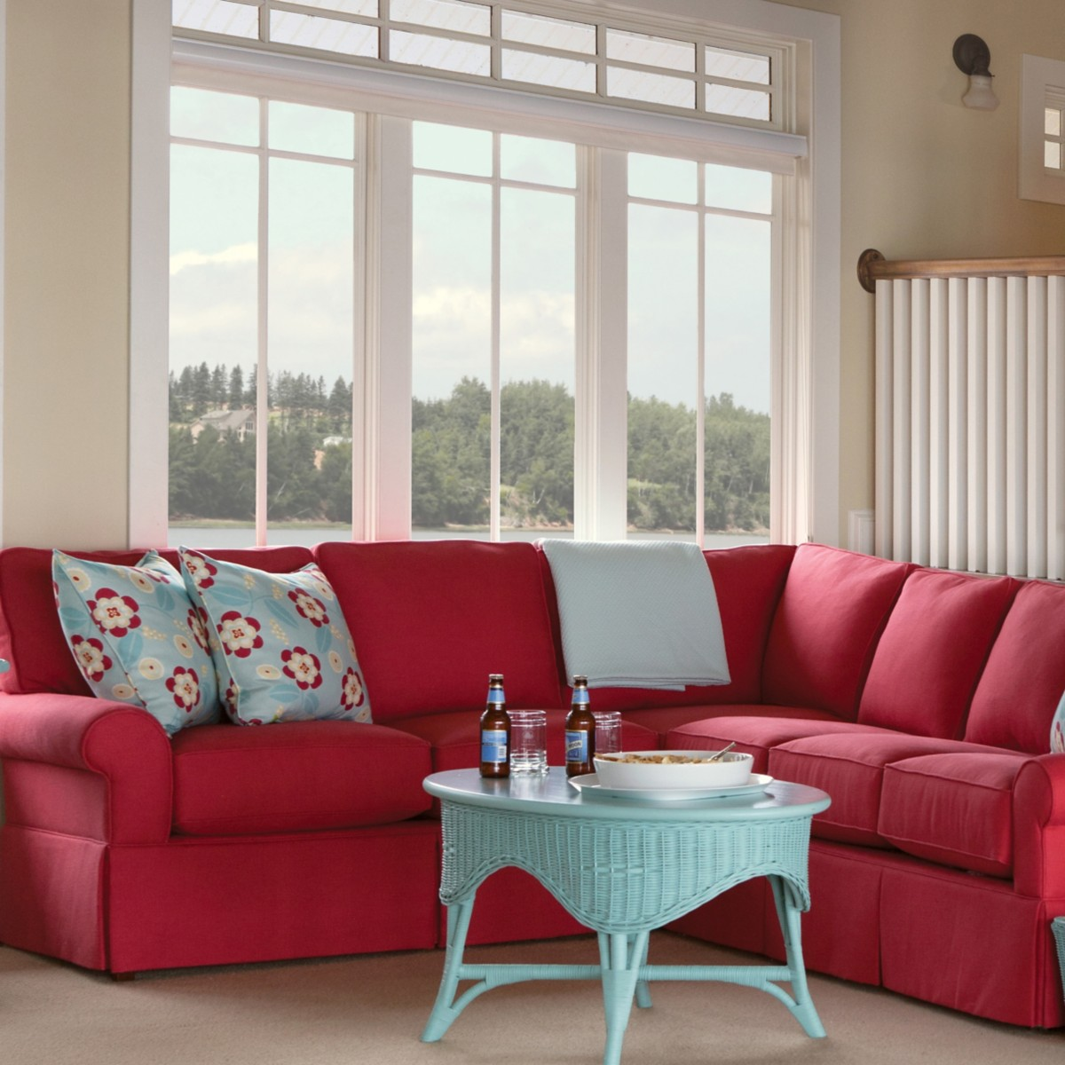 Wilton Loveseat Sectional