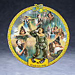 The Wizard Of Oz Collector Plate: If I Only Had A Brain