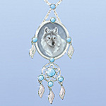 Sacred Spirits Wolf Pendant