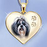 Keepsake Shih Tzu Dog Pendant