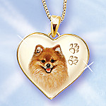 Keepsake Pomeranian Dog Pendant