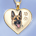 Keepsake German Shepherd Dog Pendant