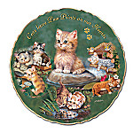 Purr-fect Love For Cats & Kittens Porcelain Collector Plate