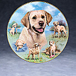 Linda Picken Friends For Life Collector Plate