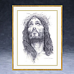 Crown Of Thorns Jesus Christ Inspirational Collector Plate