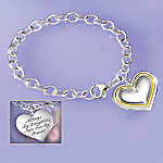 Always My Daughter, Now Too My Friend Diamond Bracelet