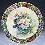Lena Liu Garden Delights Collector Plate