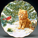 Smitten Kitten Collector Plate