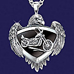 Live To Ride Biker Medallion