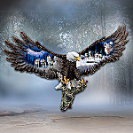 Sovereign Spirits Bald Eagle Wall Sculpture