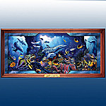 Jewels Of The Sea Stained Glass Illuminated Wall Decor Art