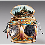 The Spirit Of The Wolf Sacred Keepsake Box