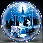 Enchanted Dreams Unicorn Collector Plate