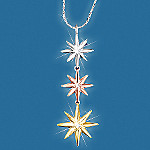 Always & Forever Diamond Star Sterling Silver Pendant Necklace