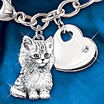 The Purr-fect Companion Keepsake Cat Charm Bracelet