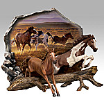 Prairie Thunder Horse Art Collector Plate