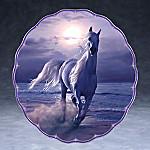 Christian Riese Lassen Mystic Runner Horse Art Collector Plate