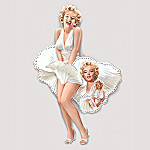 Shimmering Beauty Marilyn Monroe Collectible Wall Decor