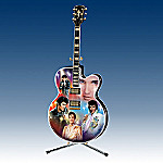 Elvis Presley Rockin' Through The Years Guitar Collector Plate