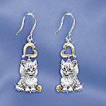 Purr-Fect Companion Cat Lover Keepsake Earrings