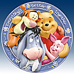 Winnie The Pooh And Friends Everything's Better Together Collector Plate