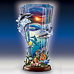 Lights Of Paradise Collectible Dolphin Art Sculpture