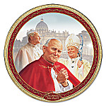 Vicar Of Christ Pope John Paul II Collector Plate