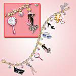 Barbie Timeless Trends Charm Bracelet: Collectible Barbie Jewelry