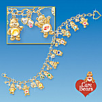 Collectible Care Bears Ultimate Charm Bracelet With Swarovski Crystals