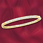 My True Love Diamond Bracelet Romantic Jewelry Gift For Her