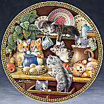 Kitchen Capers Cat Collector Plate