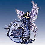 Amy Brown Believe Collectible Purple Fairy Wall Decor