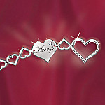 Always In My Heart Diamond Bracelet