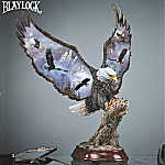 Ted Blaylock Canyon Kings Collectible American Bald Eagle Sculpture