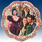 Precious Passion Gone With The Wind Collector Plate
