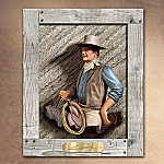 The Duke John Wayne 100th Anniversary Tribute Plaque: John Wayne Memorabilia