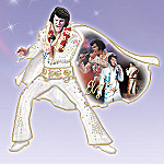 Elvis Presley Porcelain Sculptural Wall Decor: A Shimmering Legacy