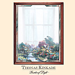 Thomas Kinkade Peaceful Reflections Decorative Wall Mirror
