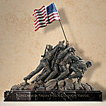 United States Marine Corp Memorial Tabletop Figurine Replica: Memories Of Honor