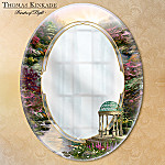 Thomas Kinkade Reflections Of Peace Decorative Mirror