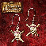 Pirates Of The Caribbean At World's End Earrings With Swarovski Crystals