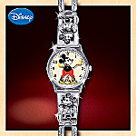 Disney Mickey Mouse 1933 Tribute Watch: Mickey Mouse Anniversary Memorabilia